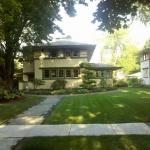 Prairie Style Homes In Oak Park Real Estate